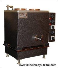 Elektrikli Çay Kazanı - Büro Tipi Statik Boyalı İkili